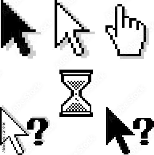 pixel-cursors