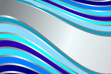 Diagonal gentle retro blue  stripes  background (vector)
