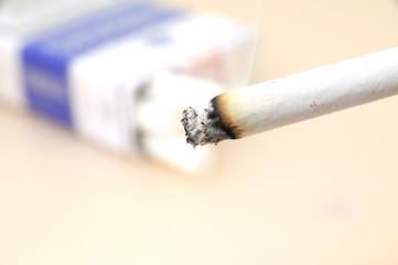 Cigarro en primer plano