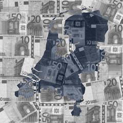 Netherlands euros map
