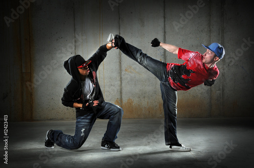 Hip Hop Men Dancing
