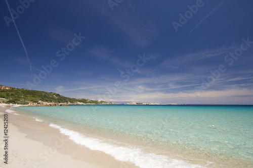 withe sand beach and turquoise water