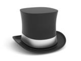 The gentleman hat poster