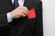 Chef zückt die rote Karte