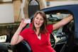 Freudensprung Führerschein bestanden eigenes Auto