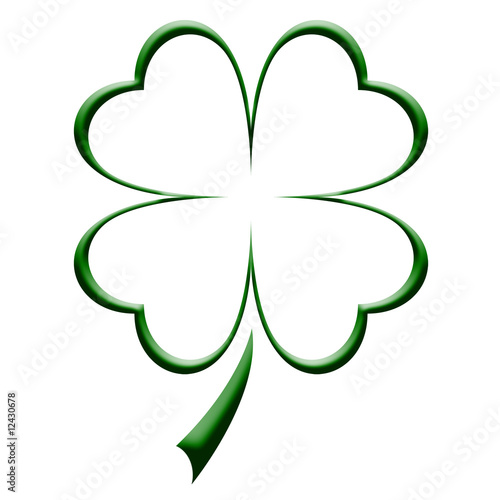 Shamrock Illustration - 12430678