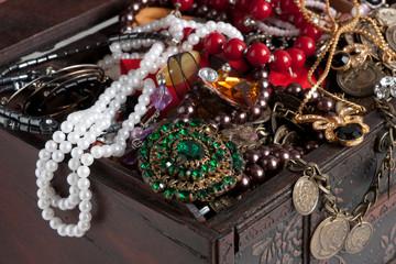 Treasure chest  background
