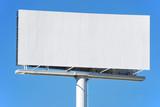 Advertisement billboard poster