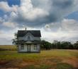 Abandoned Rural Farmhouse