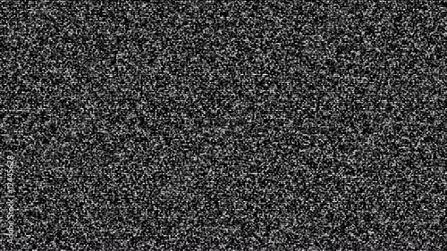 Tv static with noise HD