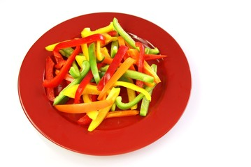 Tossed Bell Peppers
