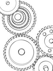 Sketch gears