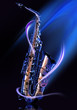Quadro saxophone