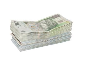 Polish money.