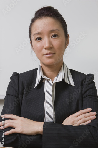 Portrait of an Asian businesswoman