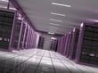 Sala de servidores para internet