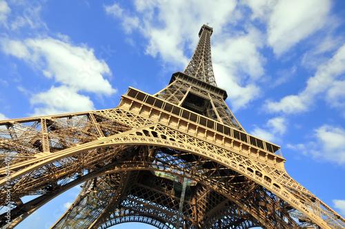Eiffel Tower in Paris, France. - 12474471