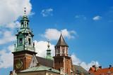 Wawel castle in Krakow poster