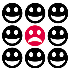 smiley different