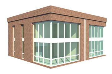 Doppelhaus diagonal