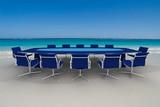 Fototapety meeting beach blue 2