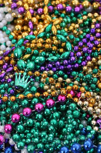 Mardi Gras Beads 2 - 12482046