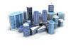 Ville moderne building architecture 3D