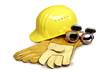 Leinwanddruck Bild - Arbeitsschutz