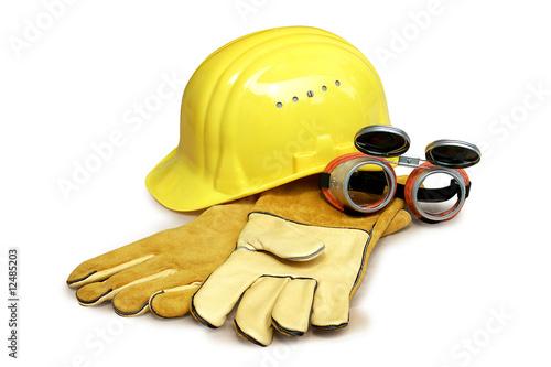 Leinwanddruck Bild Arbeitsschutz