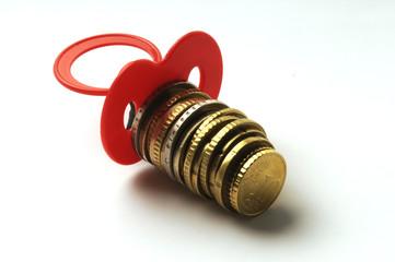 Ciuccio con euro - Microcredito