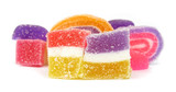 Jelly candies confectionery poster