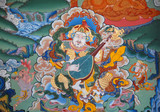 fragment seznam buddhistický chrám. kalmycká