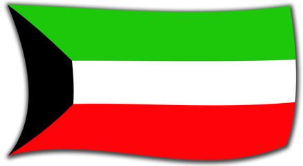 Bandera kuwaiti