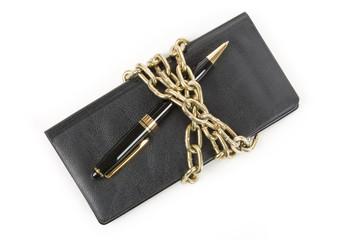 Checkbook and Chain