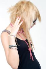 Trendy teenage girl