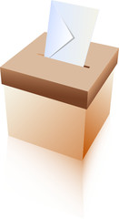 Vote Box and Envelope