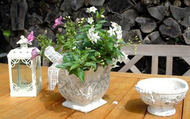 Garten romatisch Dekoration