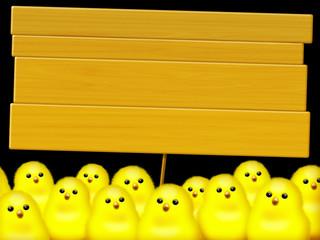 Pasqua Pulcini-Paques Poussins-Easter Chicks