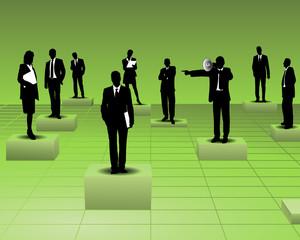 Mitarbeiter delegieren