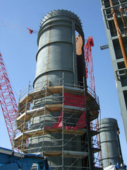 construction of smoke stack