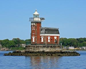 Stepping Stones Lighthouse, Long Island Sound New York