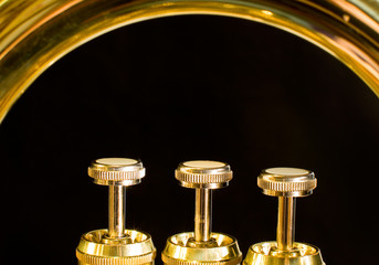 the valves of a euphonium