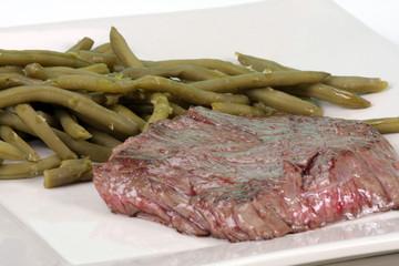 steak haricots verts
