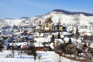 Kirchenburg von Biertan in Rumänien
