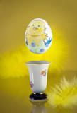 Hovering egg poster