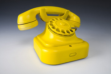 Yellow phone