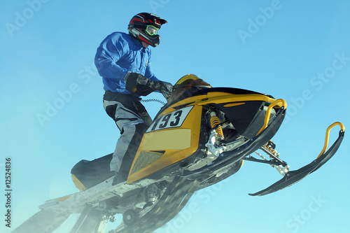 Snowmobile Racing
