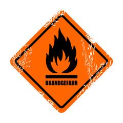 warnzeichen brandgefahr