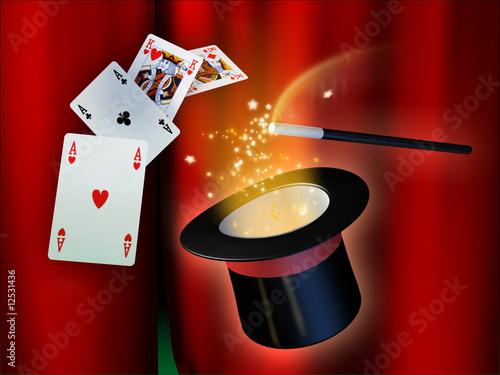 Magic show - 12531436