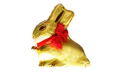 golden chocolate Easter bunny